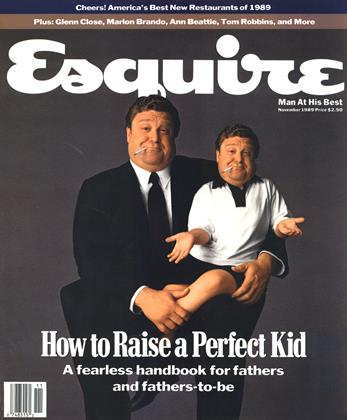 Cover for the November 1989 issue