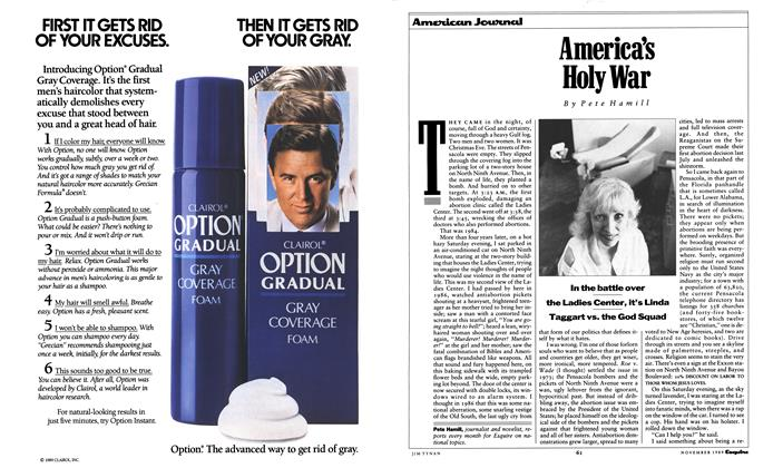 Article Preview: America's Holy War, November 1989 | Esquire