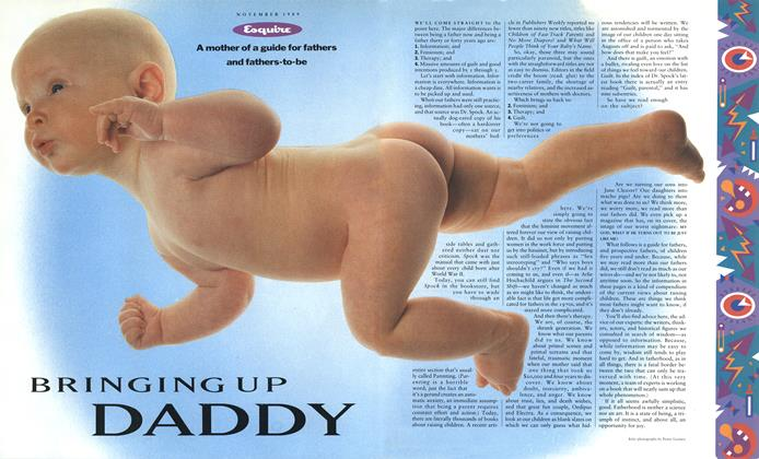 Article Preview: Bringing Up Daddy, November 1989 | Esquire
