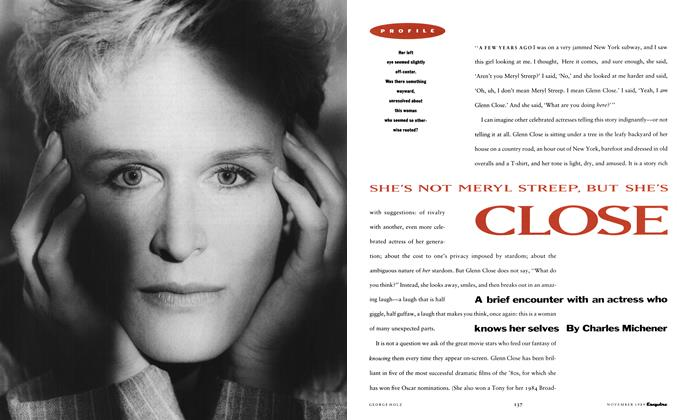 She's Not Meryl Streep, But She's Close