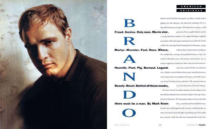 Article Preview: Brando, November 1989 1989 | Esquire