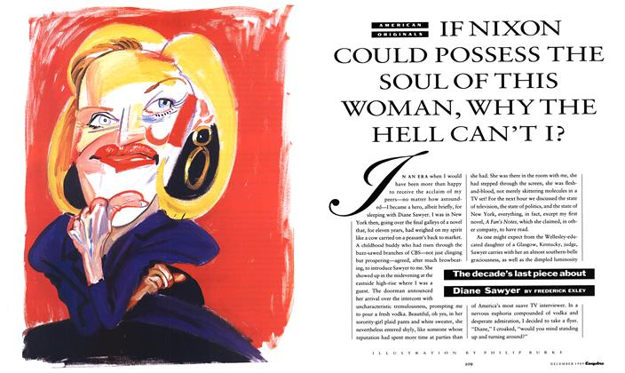 Article Preview: If Nixon Could Possess the Soul of This Woman, Why the Hell Can't I?, December 1989 | Esquire