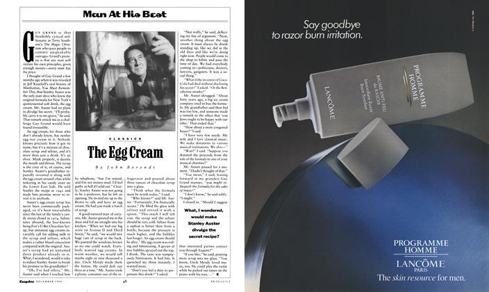 The Egg Cream