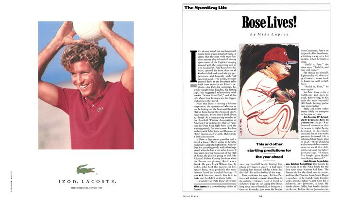 Article Preview: Rose Lives!, December 1989 1989 | Esquire