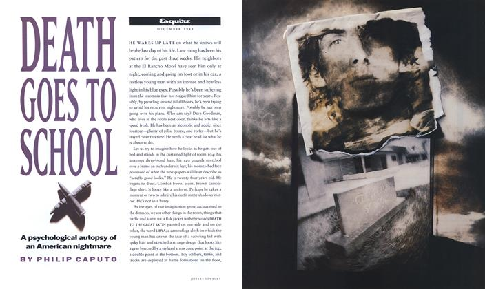Article Preview: Death Goes to School, December 1989 | Esquire