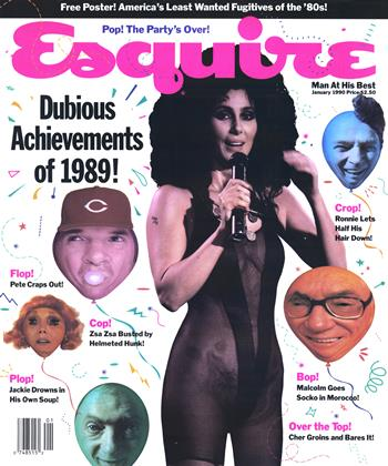 Cover for the January 1990 issue