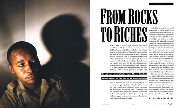 Article Preview: From Rocks to Riches, January 1990 | Esquire