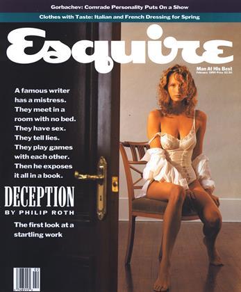 February 1990 | Esquire