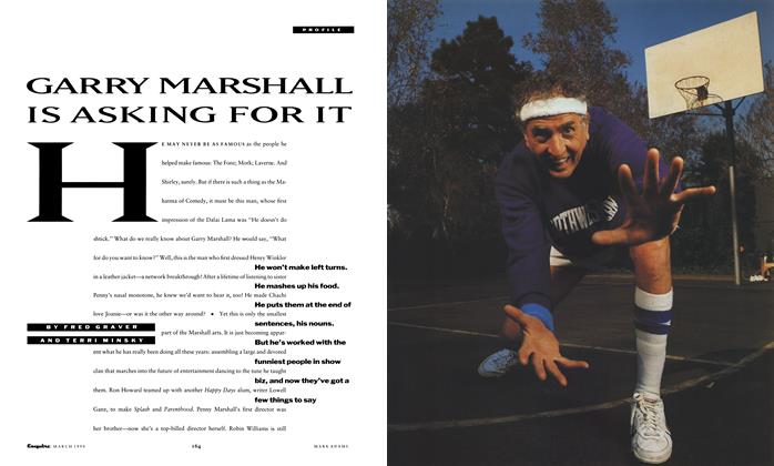 Article Preview: Garry Marshall Is Asking for It, March 1990 | Esquire