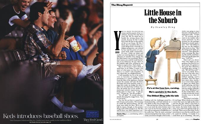 Article Preview: Little House in the Suburb, April 1990 1990 | Esquire