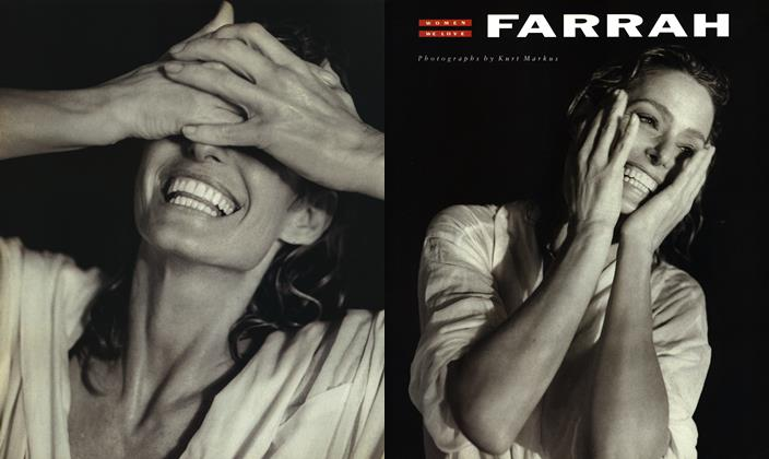 Article Preview: FARRAH, May 1990   Esquire