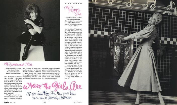 Article Preview: where the girls are, May 1990 1990   Esquire