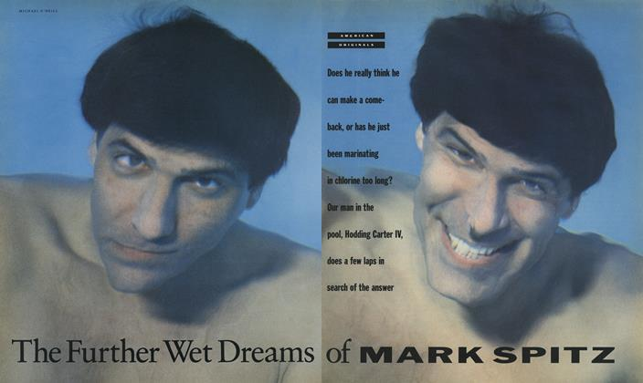 Article Preview: The Further Wet Dreams of Mark Spitz, May 1990 | Esquire