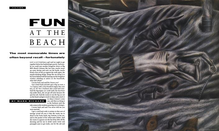 Article Preview: Fun at the Beach, May 1990 | Esquire