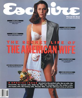 Cover for the June 1990 issue