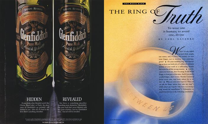 Article Preview: THE RING OF Truth, June 1990 1990   Esquire