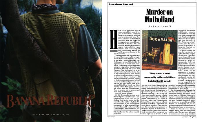 Murder on Mulholland