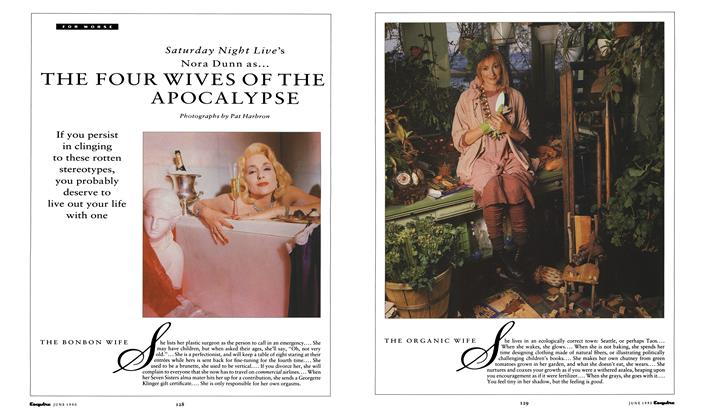 Article Preview: THE FOUR WIVES OF THE APOCALYPSE, June 1990 1990 | Esquire