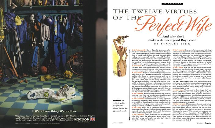 Article Preview: THE TWELVE VIRTUES OF THE Perfect Wife, June 1990 1990 | Esquire