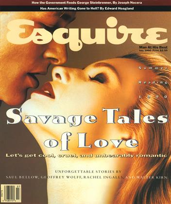 Cover for the July 1990 issue