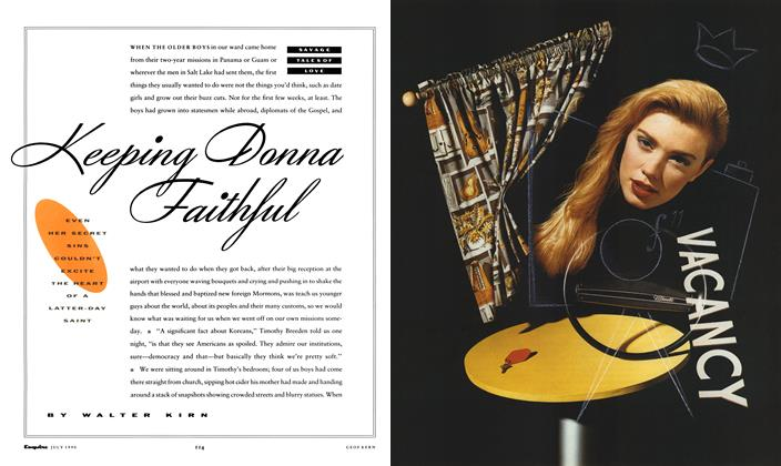 Keeping Donna Faithful