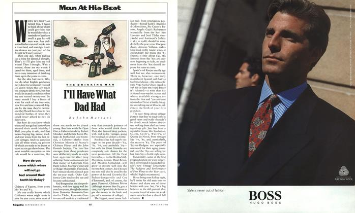 Article Preview: I'll Have What Dad Had, September 1990 | Esquire