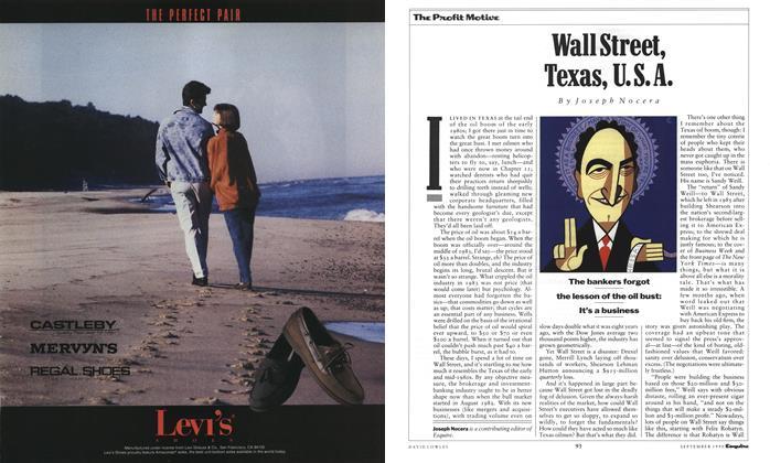 Wall Street, Texas, U.S.A.