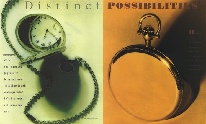 Article Preview: Distinct Possibilities, September 1990 | Esquire