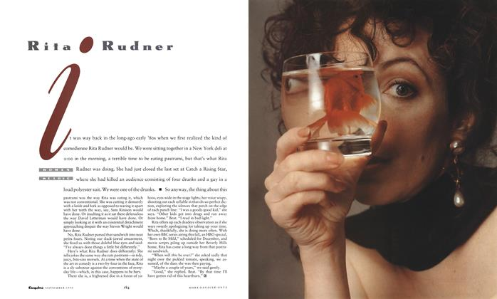Article Preview: Rita Rudner, September 1990 | Esquire