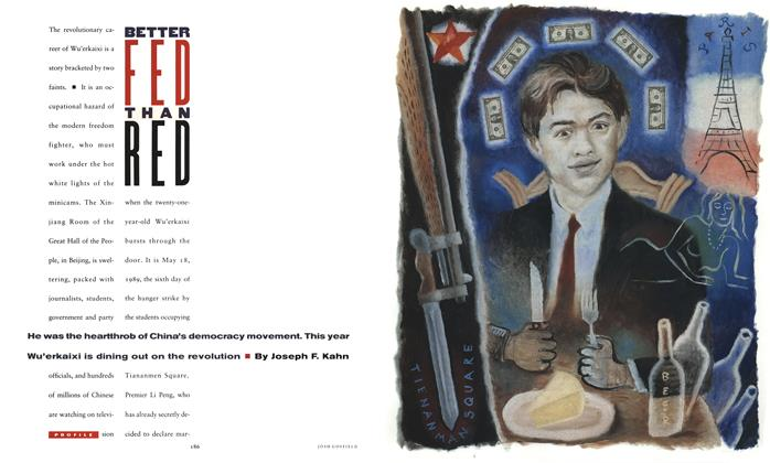 Article Preview: Better Fed Than Red, September 1990 | Esquire