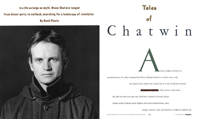 Article Preview: Tales of Chatwin, October 1990 | Esquire