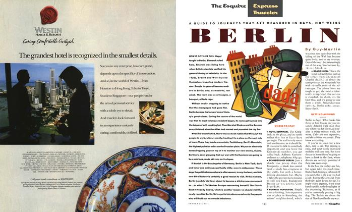 Article Preview: Berlin, October 1990 | Esquire