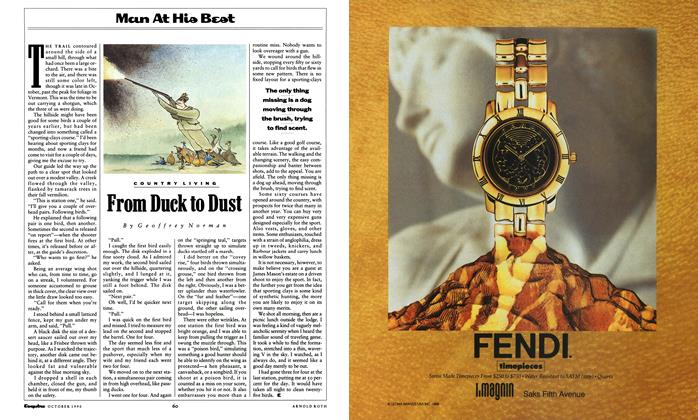 Article Preview: From Duck to Dust, October 1990 | Esquire