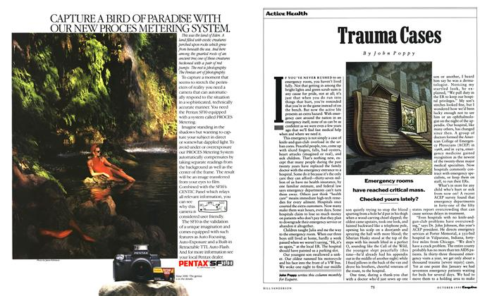 Article Preview: Trauma Cases, October 1990 | Esquire