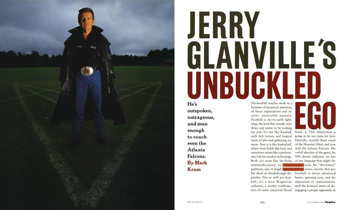 Article Preview: Jerry Glanville's Unbuckled Ego, October 1990 | Esquire