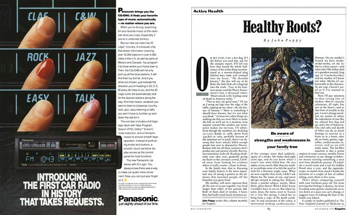Article Preview: Healthy Roots?, November 1990 | Esquire