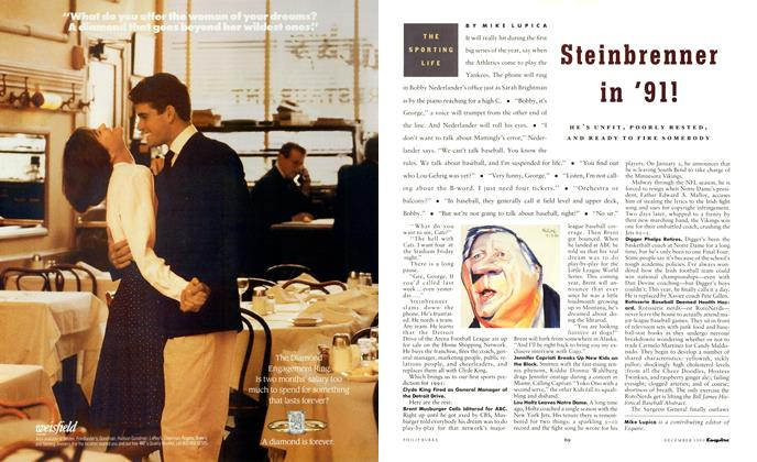 Article Preview: Steinbrenner in '91!, December 1990 1990 | Esquire