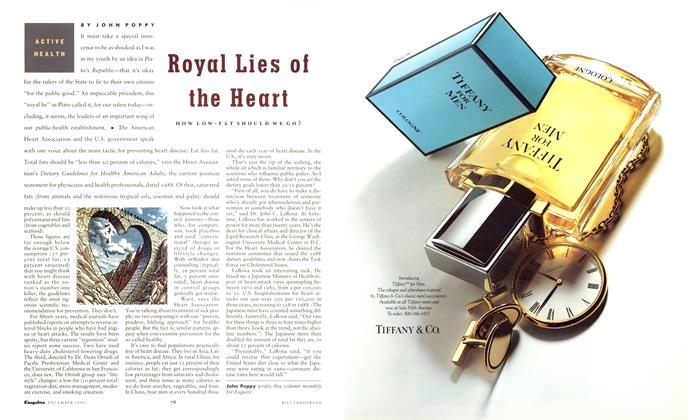 Article Preview: Royal Lies of the Heart, December 1990 | Esquire