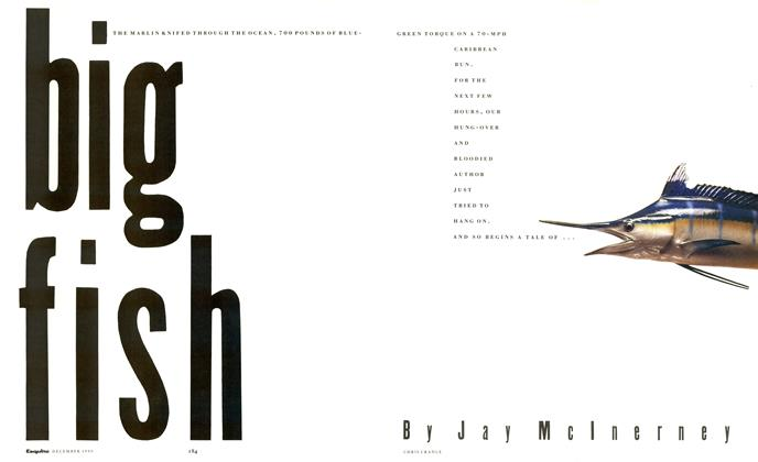 Article Preview: Big Fish, December 1990 1990 | Esquire