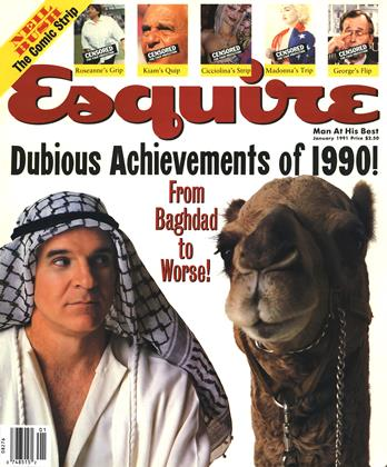Cover for the January 1991 issue