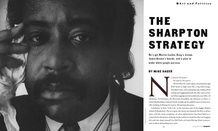 The Sharpton Strategy