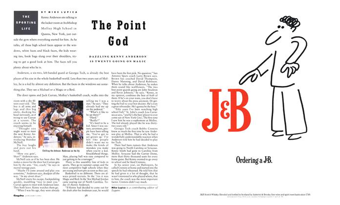 Article Preview: The Point God, January 1991 1991 | Esquire