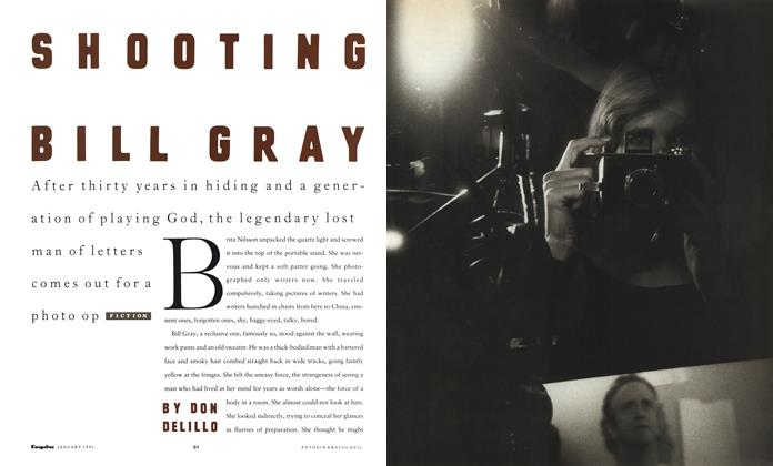 Article Preview: Shooting Bill Gray, January 1991 | Esquire