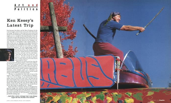 Article Preview: Ken Kesey's Latest Trip, FEBRUARY 1991 1991 | Esquire