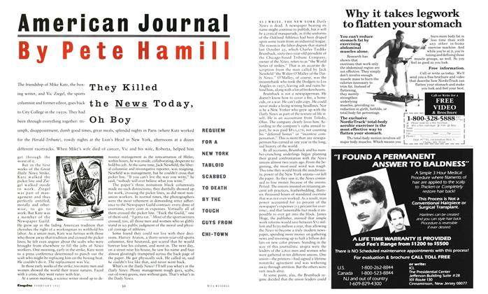 Article Preview: They Killed the News Today, Oh Boy, February 1991 | Esquire