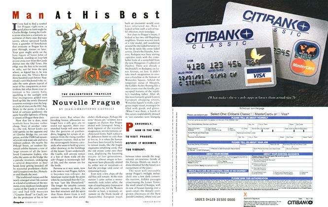 Article Preview: Nouvelle Prague, FEBRUARY 1991 1991 | Esquire