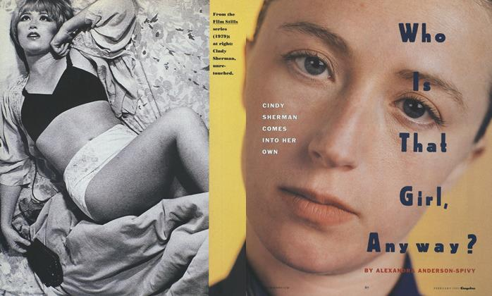Article Preview: Who Is That Girl, Anyway?, FEBRUARY 1991 1991   Esquire