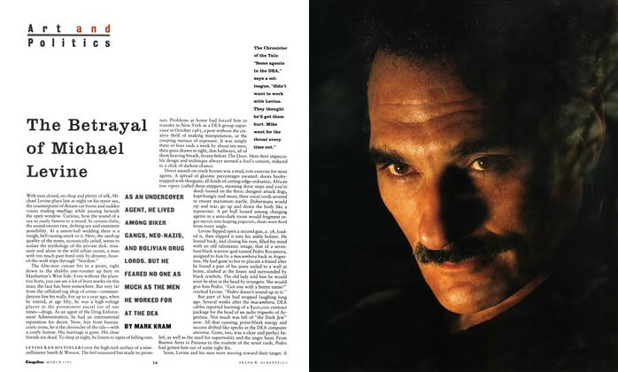 Article Preview: The Betrayal of Michael Levine, March 1991 | Esquire
