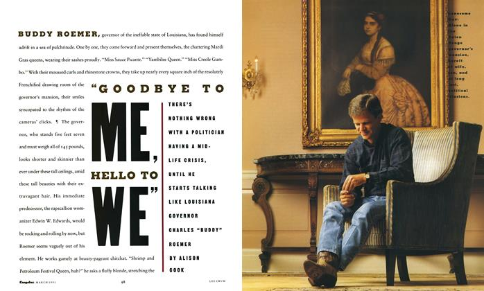 "Article Preview: ""Goodbye to Me, Hello to We"", March 1991 