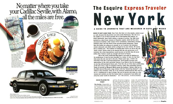 Article Preview: New York, March 1991 | Esquire